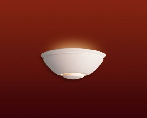 Firstlight C307UN Unglazed Ceramic Wall Light - 100w